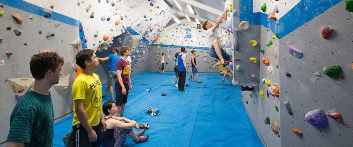 Vauxhwall climbing centre indoor climbers