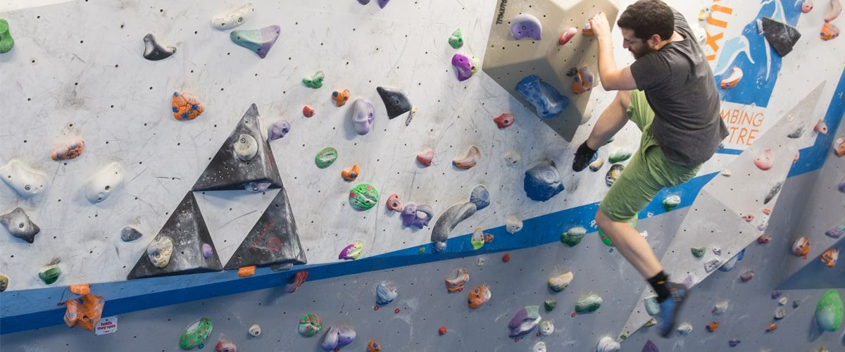 Vauxhwall climbing centre indoor climbing wall