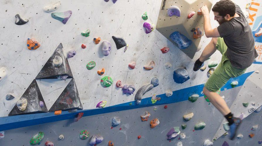 Vauxwall climbing centre indoor climbing wall
