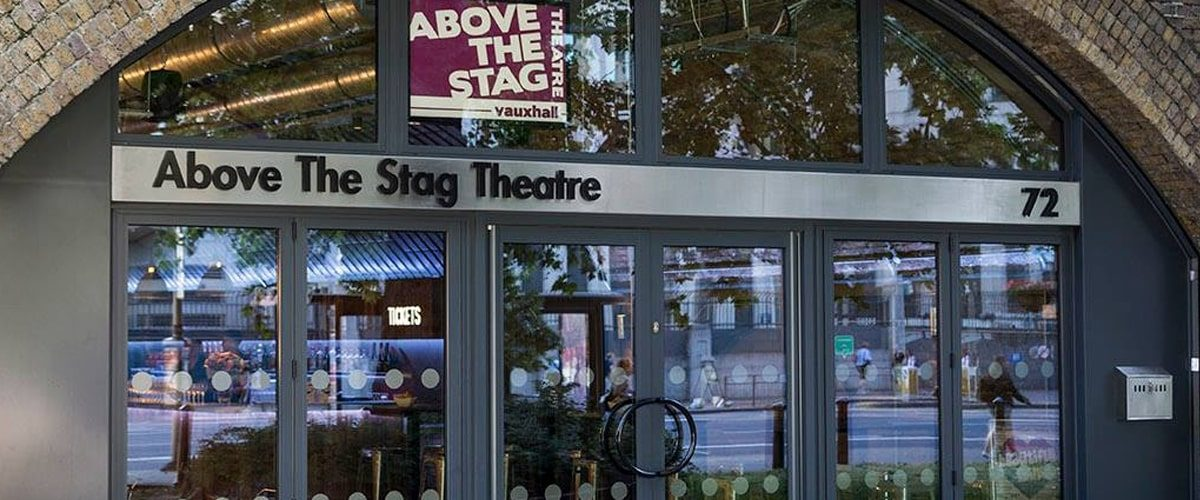 Above the Stag LGBT theatre entrance
