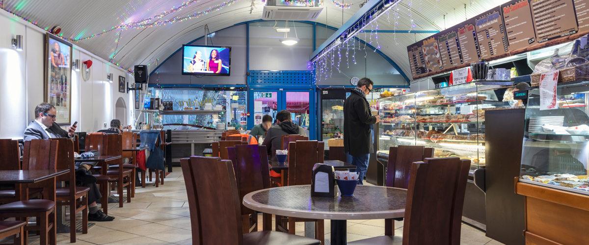 Madeira Cafe sitting area