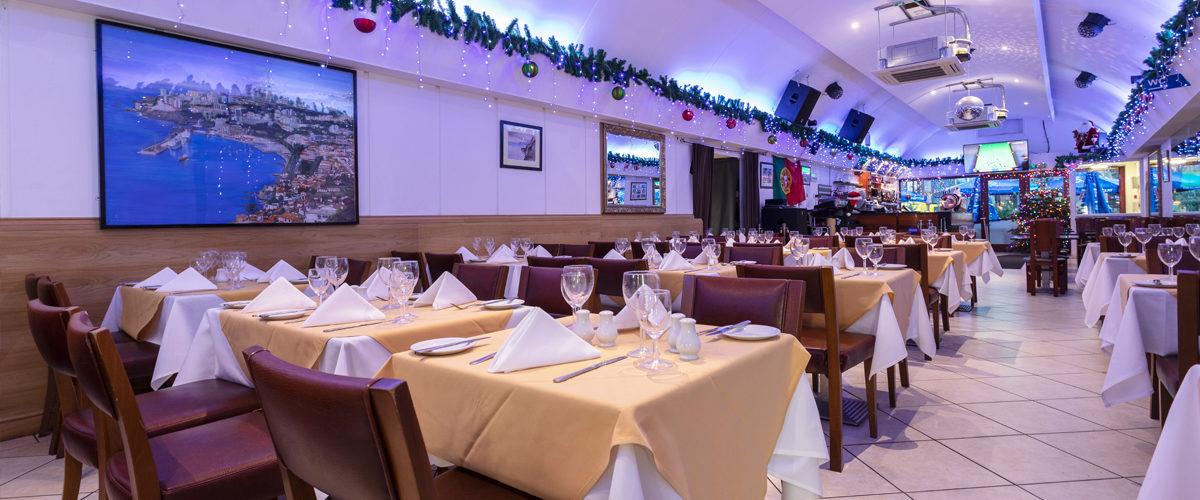 Madeira Cafe dinning area