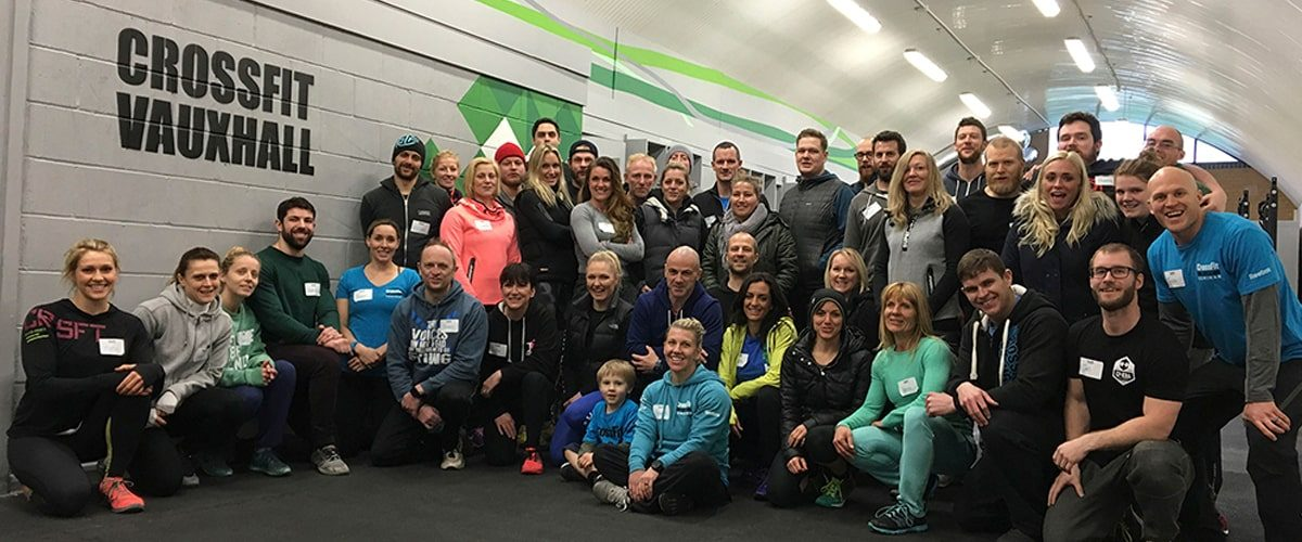 CrossFit Vauxhall team
