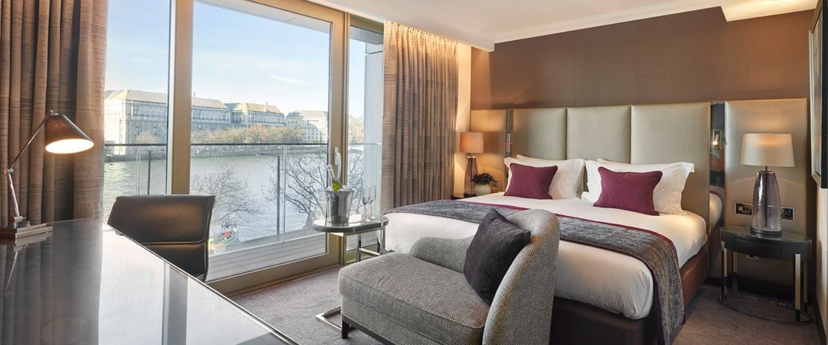 Crowne Plaza hotel Vauxhall double room