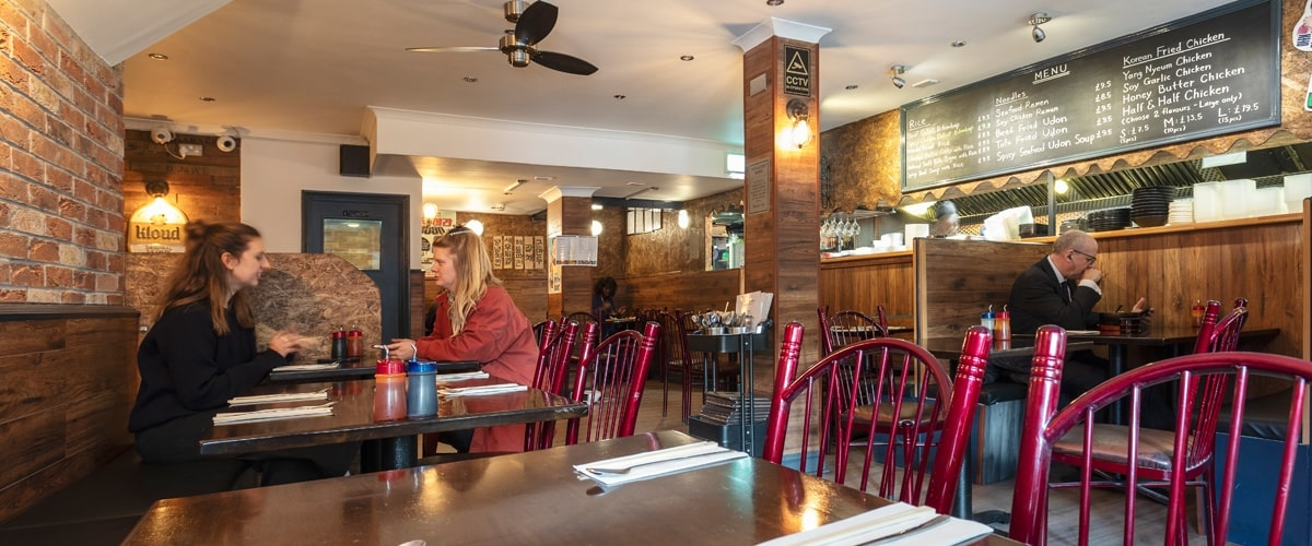 Daebak restaurant interior