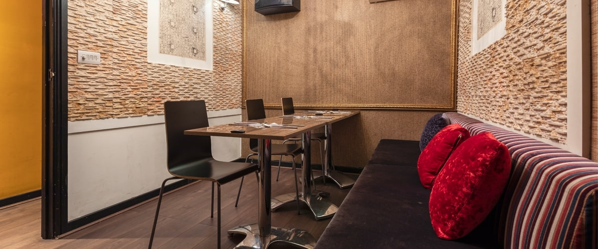 Jihwaja restaurant interior