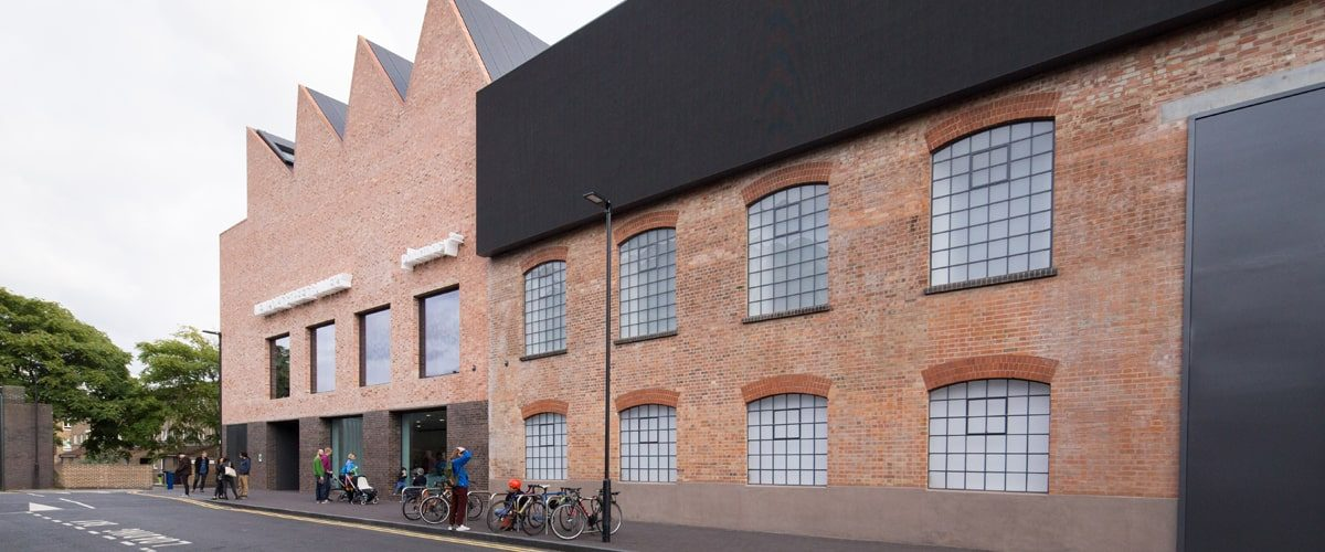 Damien Hirst's Newport Street Gallery contemporary art gallery exterior
