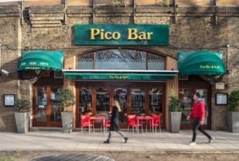 Exterior of Pico Bar