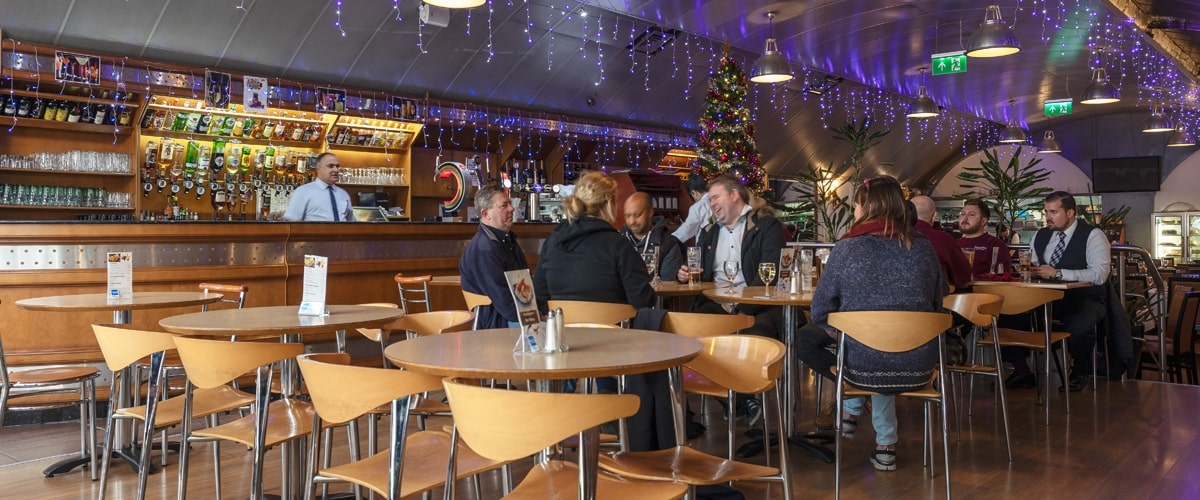 Interior view of Pico Bar at Vauxhall