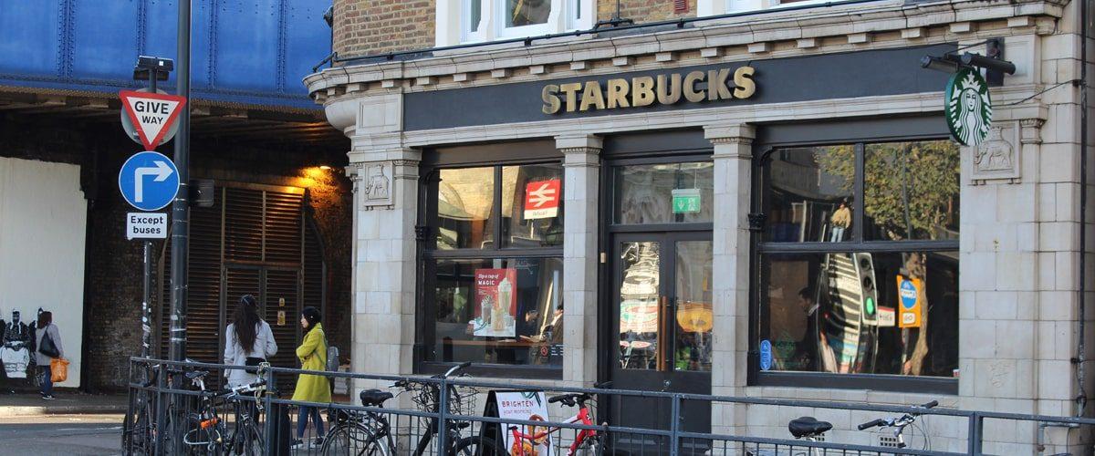 Starbucks Vauxhall Station