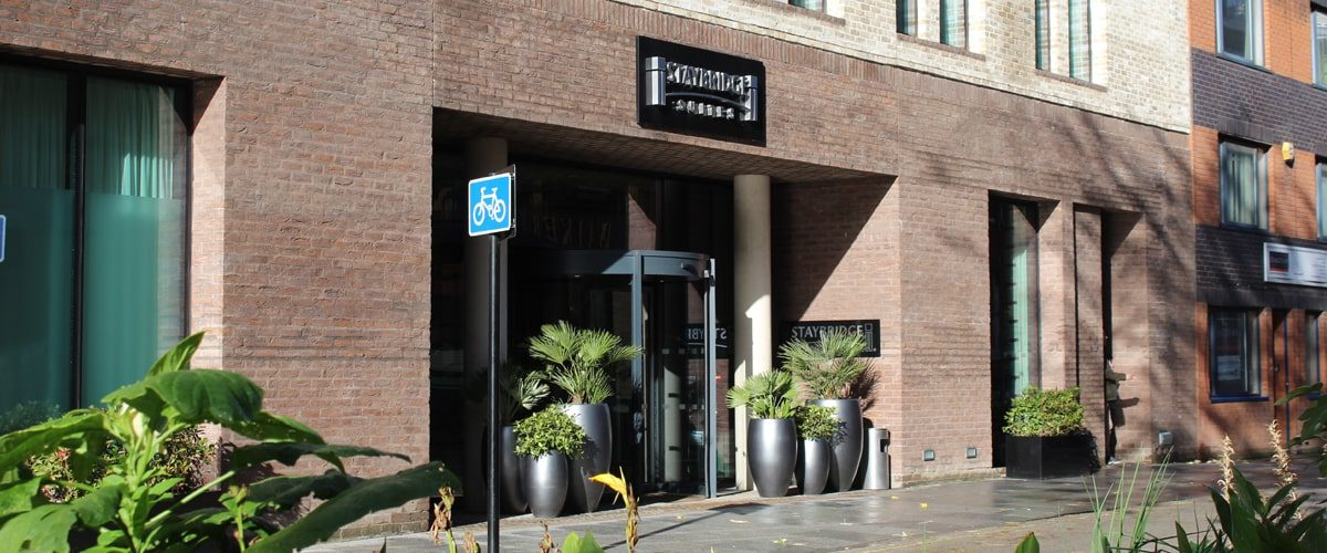 Staybridge Suits Hotel entrance
