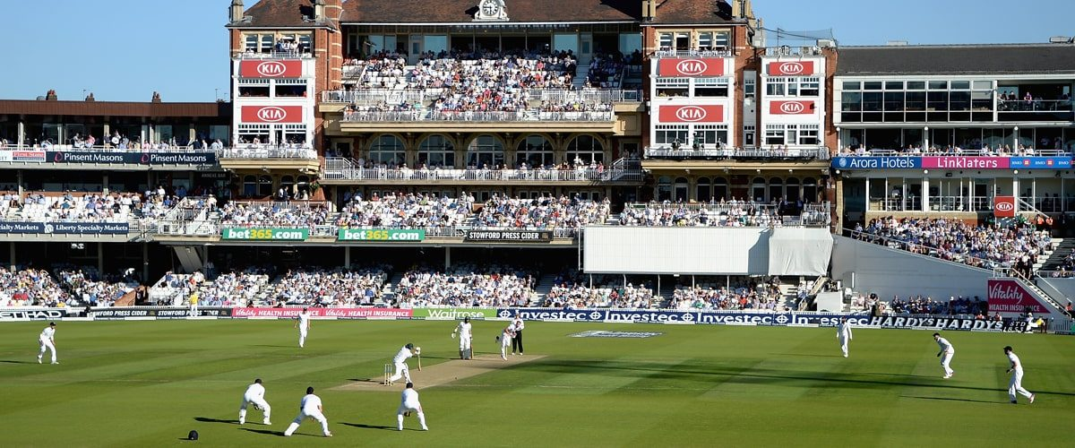 Test cricket at the Kia Oval