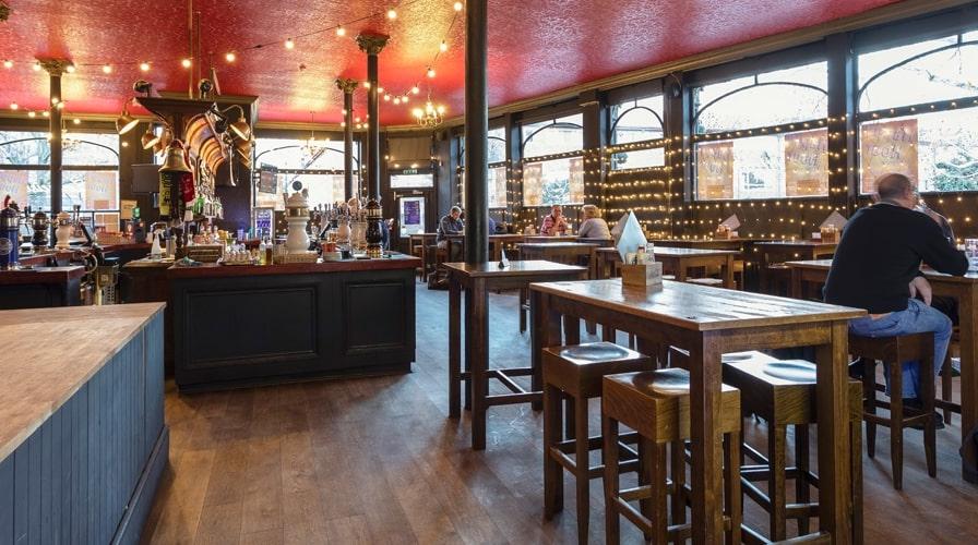 Zeitgeist pub interior