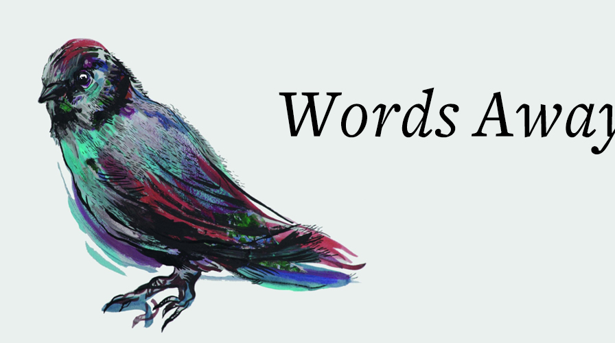 Bird illustration next to the words
