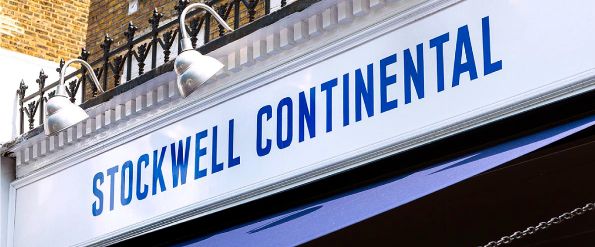 Exterior shot of Stockwell Continental